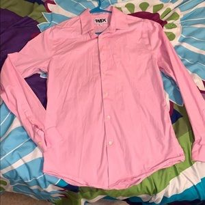 3/$20🔥Pink Mens Button up